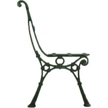Litinová lavička - LADA - nr.1 - cena za 2 ks-pár