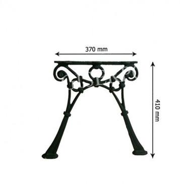 Litinová lavička - LEONA - nr.8 - cena za 2 ks-pár