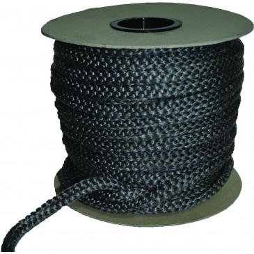 Sklokeramická těsnící šňůra - kulatá-bílá - 18 mm - cena za 1m