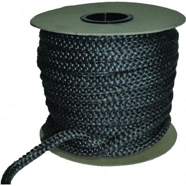 Sklokeramická těsnící šňůra - kulatá-bílá - 20 mm - cena za 1m