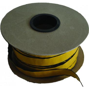 UKONČOVACÍ  Sklokeramická  šňůra - samolepící - 25 mm - cena za 1m
