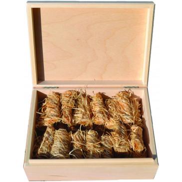Podpalovač ekologický - dřevěná krabička - 36 ks