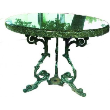 Stůl litinový ŽENEVA - kulatý