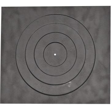 Litinová plotna kamnová široká s 1.otvorem 460 x 410