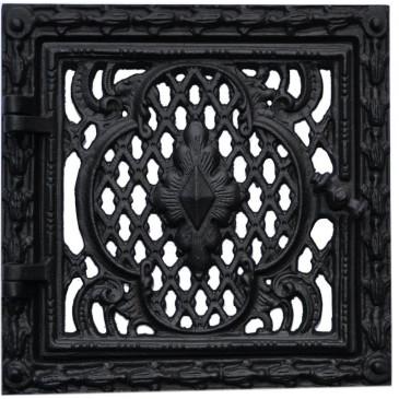 Dvířka  ventilační  - 3524-černá