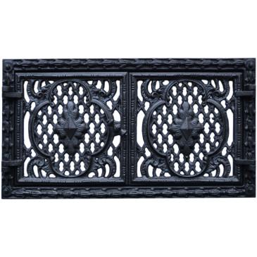 Dvířka  ventilační  - 3517-černá