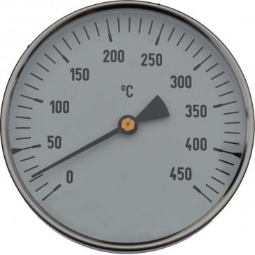 Teploměr TR-100-0-450°C-stonek 400mm+jímka