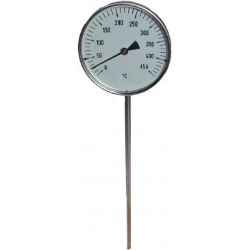 Teploměr TU-100-0-450°C-stonek 400mm+jímka