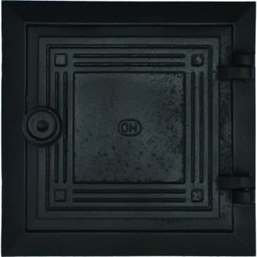 Dvířka revizní - KO - 6x6 - velká- černá