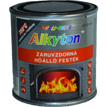 Vypalovací silikonová barva 250 ml - ČERNÁ
