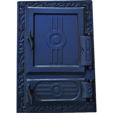 Litinový kamnový štít - KLASIK - černý